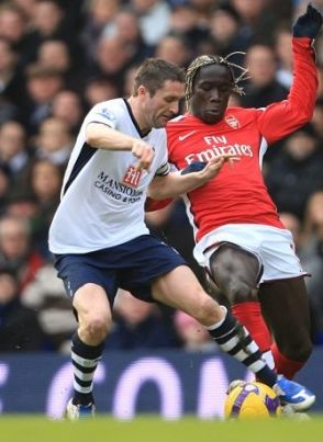 Keane made his second Spurs debut